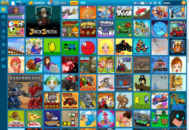 Kizi juegos en flash online